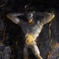 Gold core golem by 6syker6 d8964ip cover