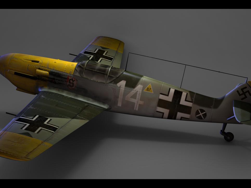 Me 106 plane 0001 show