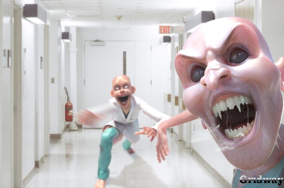 Hospital horror1 show