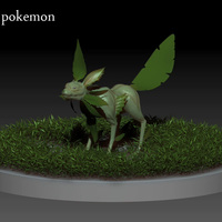 Leafeon cover