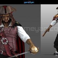 3d morgan capn creature character modeling cover