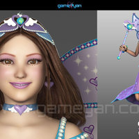3d fairy cartoon character animation cover