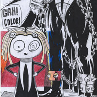 Lenore with spawn by thewallnada d3jp4mv cover