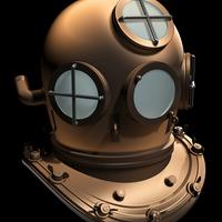 Divinghelmet cover