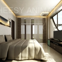 3d architectural interior render cover