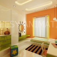 3d interior rendering childrenroom cover