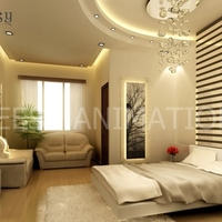 3d interior rendering guest room cover
