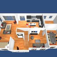 Virtual floor plan cover