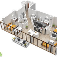 Residentail 3d floor plan design australia cover