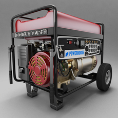 PowerHorse Generator 3D Model