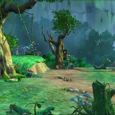 Forest Scene 1 3D Model