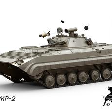 BMP-2 3D Model