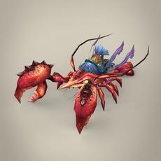Fantasy Krab 3D Model
