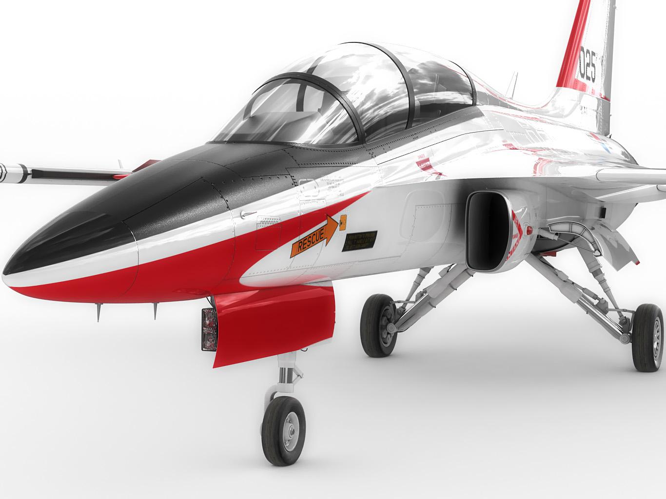 KAI T-50 Golden Eagle 3D Model