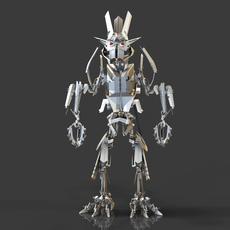Robotrex 3D Model