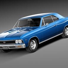Chevrolet Chevelle SS 1966 3D Model