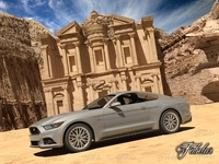 Ford Mustang GT 2015 + El Deir 3D Model