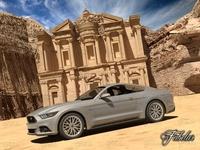 Ford Mustang GT 2015 + El Deir 3D Model