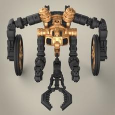 Robotic hand 3D Model