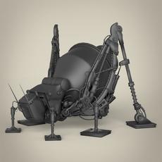 Robotic Grasshopper 3D Model