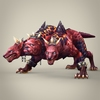 13 22 04 884 fantasy monster dog bambusa 01 4