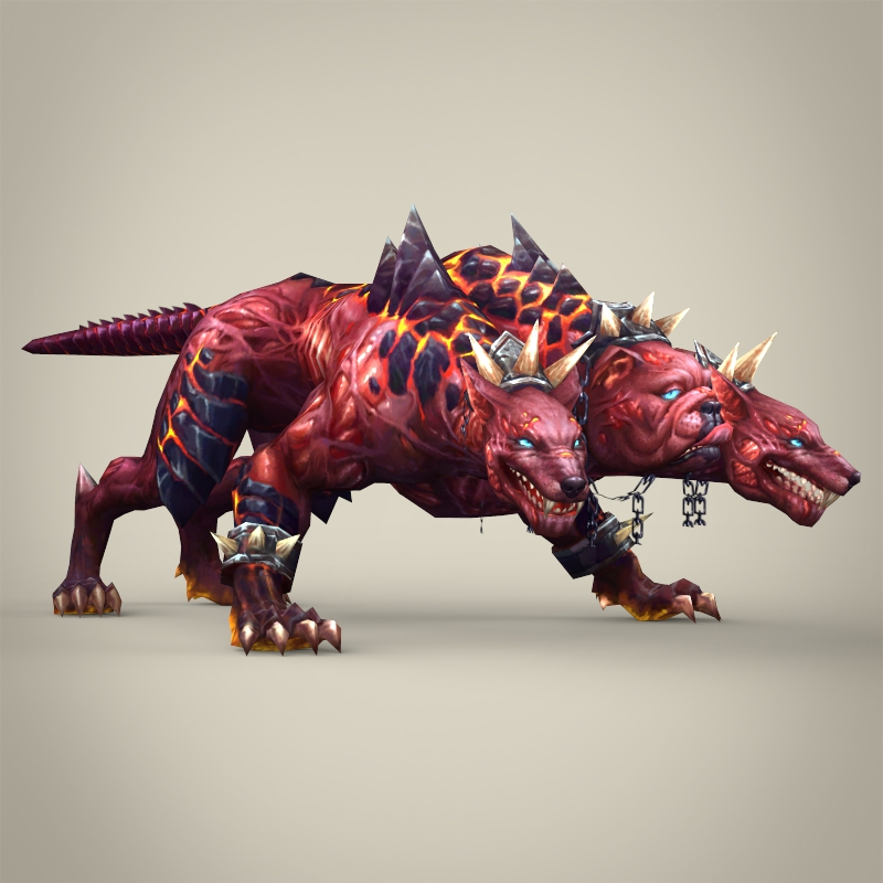 Fantasy monster dog bambusa 3d model for Monster 3d model