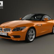 BMW Z4 (E89) roadster 2013 3D Model