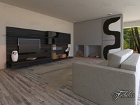 Lliving room 19 day 3D Model