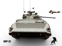 BMP-2D 3D Model
