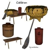 Caldron 3D Model