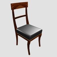 Dinner Chair 3D Model