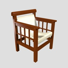 Porch Chair 3D Model