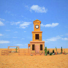 Wild West RailStation Tower 04 Set 3D Model