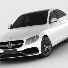 Mercedes c63 AMG 2015 3D Model