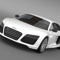 B&B Audi R8 V10 Plus 2013 3D Model