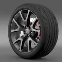 Buick Regal GS wheel 3D Model