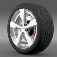 Chevrolet Volt wheel 3D Model