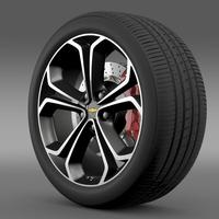 Chevrolet Volt Z spec concept wheel 3D Model