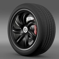 R Spirit wheel 3D Model