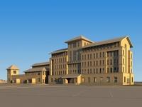 High-Rise Office Building 002 3D Model