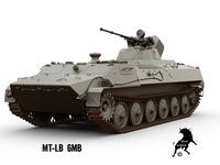 MT-LB 6MB 3D Model
