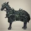 13 33 30 495 fantasy medieval warrior horse 03 4