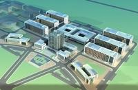High-Rise Office Building 008 3D Model