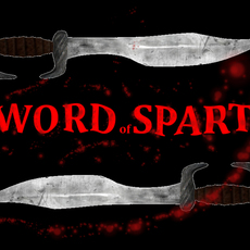 Spartan sword, greek weapon 3D Model