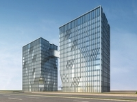 High-Rise Office Building 023 3D Model