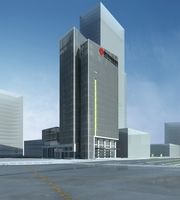 High-Rise Office Building 026 3D Model