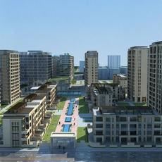 High-Rise Office Building 032 3D Model
