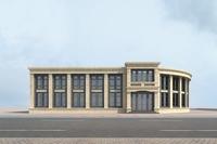 High-Rise Office Building 034 3D Model