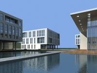 High-Rise Office Building 037 3D Model