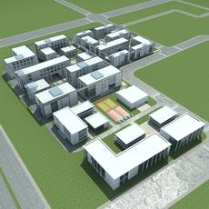 High-Rise  Office Building 043 3D Model